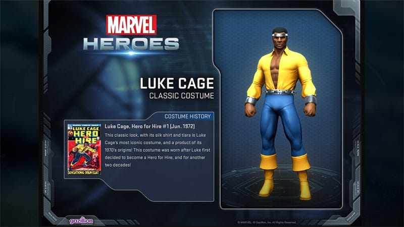Luke Cage Is Even Cooler In Marvel Heroes, If That's Possible