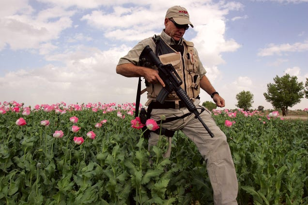 Blackwater Is Still Getting Rich Screwing Up Our War on Afghan Drugs
