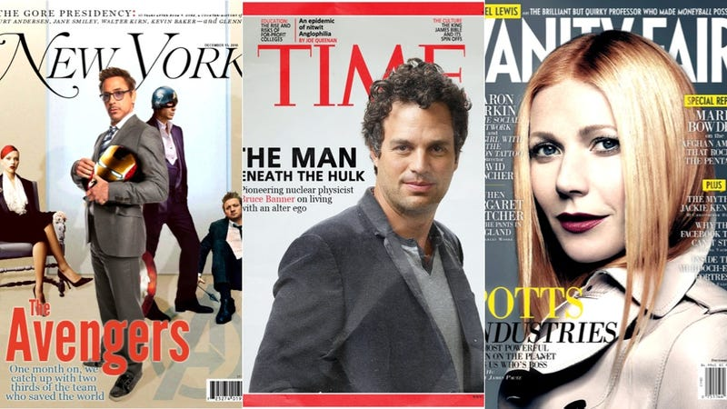 If The Avengers Existed, Their Magazine Covers Would Look Like This