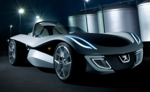 Flux Capacitor: Peugeot Design Competition Winner Built in Full Scale for Frankfurt