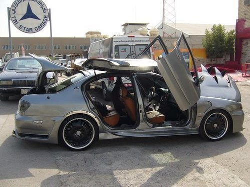 World's Most Hideous Nissan Maxima Found In Kuwait