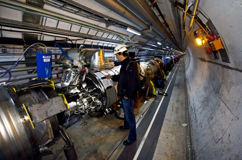 Photos Show What 10 Megajoules Worth of Damage To the LHC Looks Like