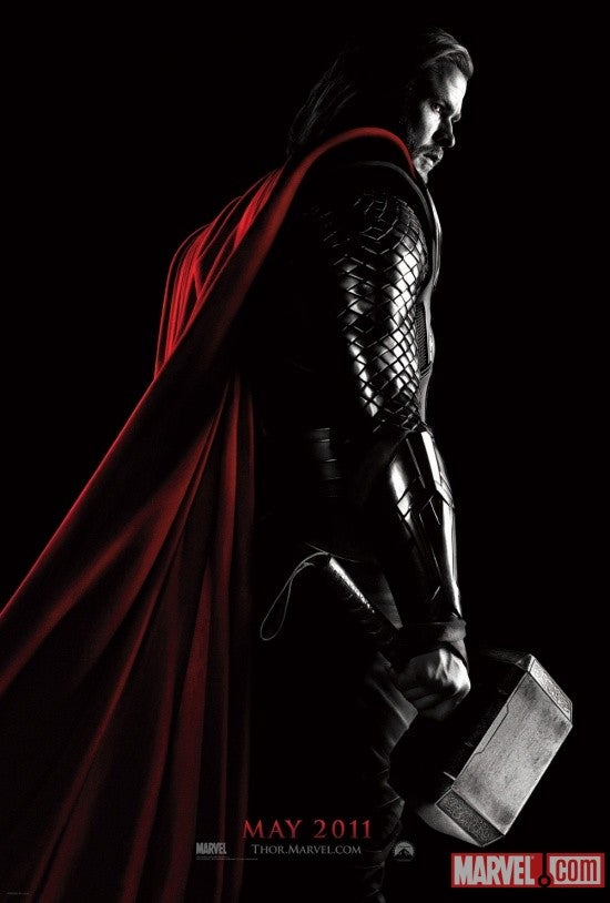 First Thor poster revealed! Plus Robert Kirkman talks the future of The Walking Dead!