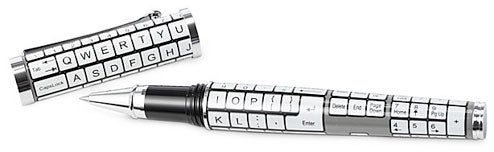 Keyboard Pen Mocks Your Chicken Scratch