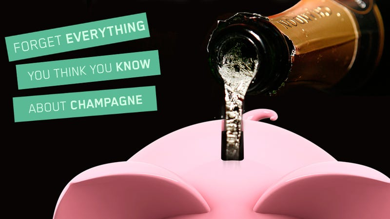 How To Drink Champagne Without Becoming Even More Broke Than Usual