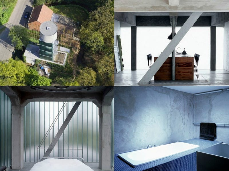People Who Live Inside Water Towers