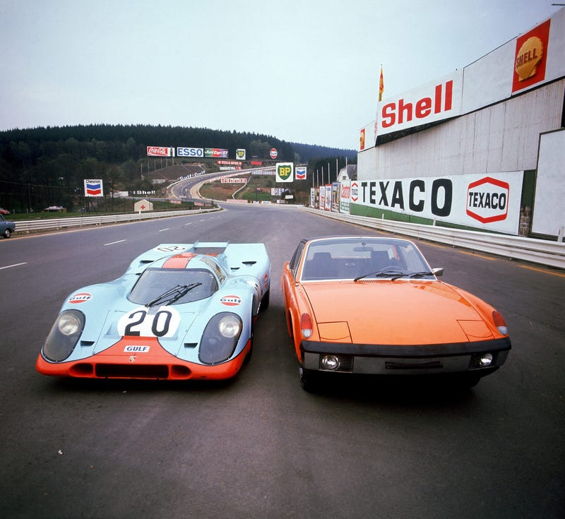 The Porsche 917 Was Really Damn Small
