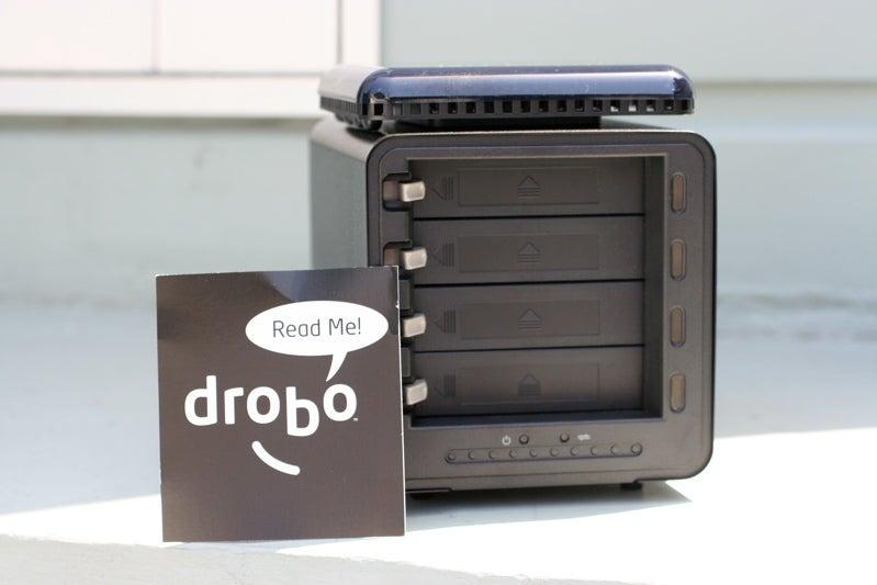 Drobo Storage Robot Review (Verdict: Great Concept, But Wait For V2.0)