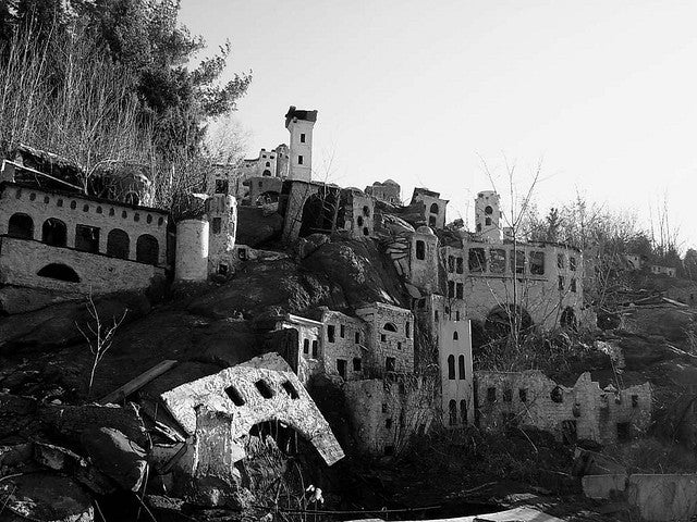 Decaying Biblical theme park houses the ruins of faux Jerusalem