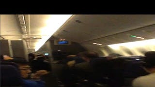This Raw Video From A Turbulent Flight Is Absolutely Terrifying