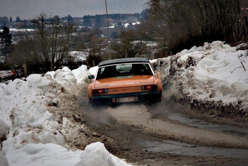 Consider the Porsche 914 for the Snowpocalypse