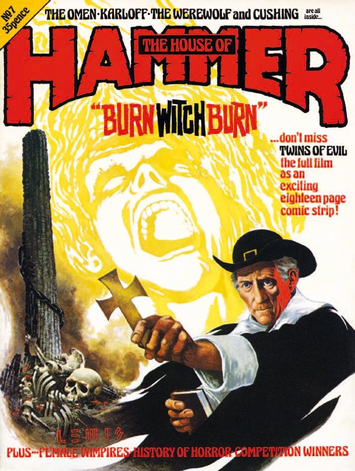 The Insane Art of Hammer Films [NSFW]