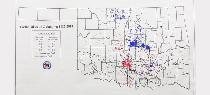 Why Oklahoma Suddenly Has More Earthquakes Than California