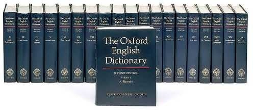 Let's Hope the Print Oxford English Dictionary Really Dies