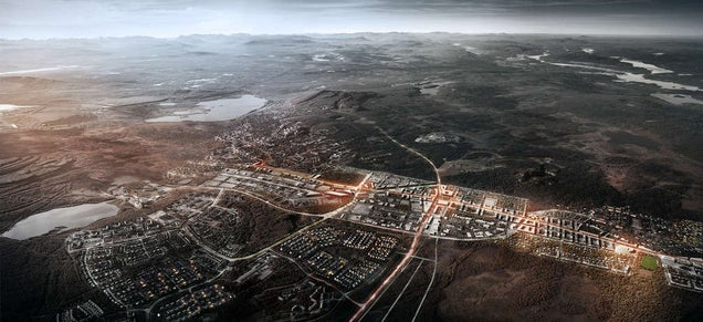 How Engineers Are Moving An Entire Town Two Miles Away