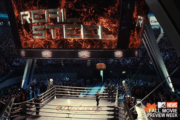 Real Steel set photo and billboard images