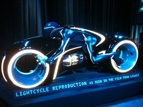 This is Not the Lightcycle I Rode