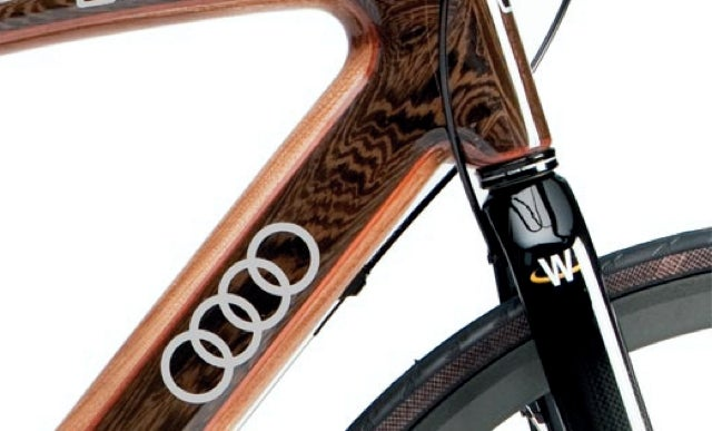 Audi Teams Up with Renovo to Produce Yet Another Jaw-Dropping Wooden Bicycle