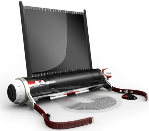D-Roll Scroll-Based Laptop Concept: Technology Is Cyclical