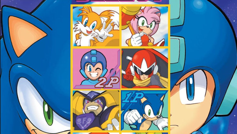 The Sonic/Mega Man Comics Crossover Might Be the Closest We Get a Sega vs. Capcom Throwdown