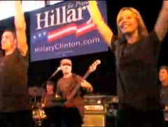 Hillary Celebrated In Cringe-Inducing Song