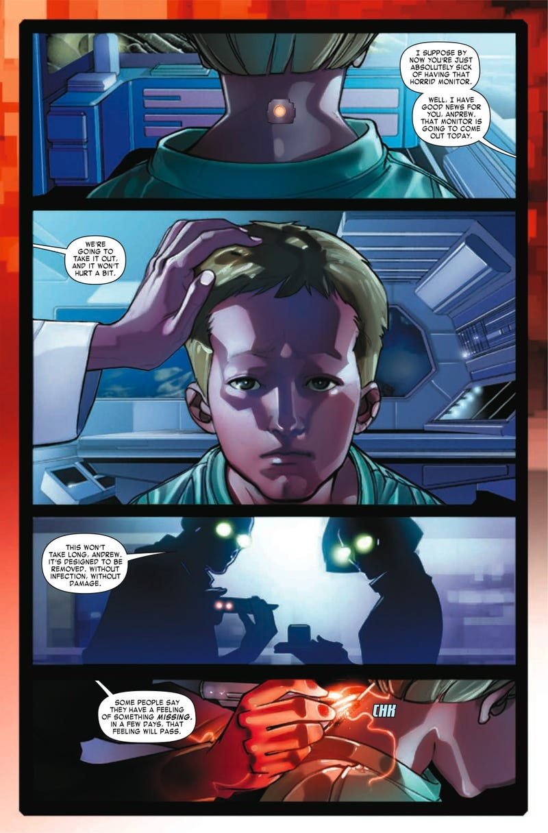 Read The First 10 Pages of Marvel's Enders Game