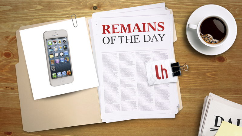 Remains of the Day: You Can Now Buy the iPhone 5 Unlocked