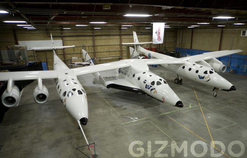 Virgin SpaceShipTwo Gallery