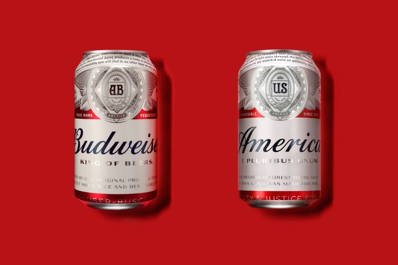 Budweiser Changes Name To 'America' For The Summer