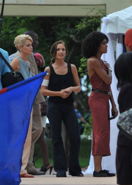 Charlie's Angels Set Pictures