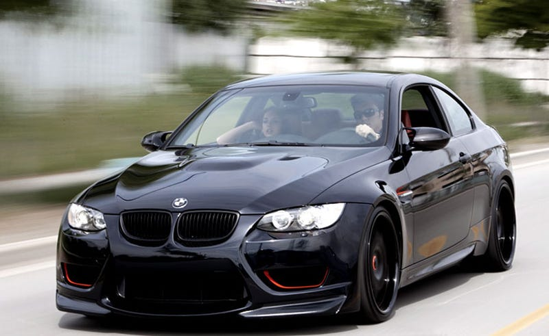 MWDesign Darth Maul BMW M3: The Dark Side Of Tuning
