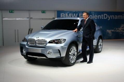 Frankfurt Auto Show: BMW X6, ActiveHybrid Concepts