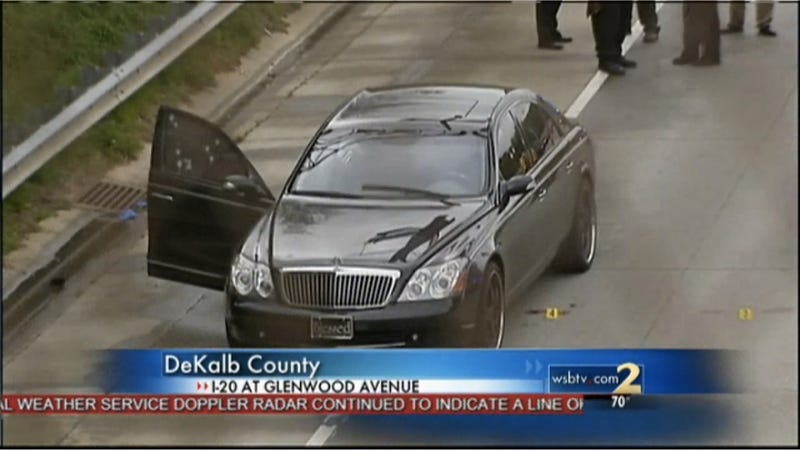 Maybach Driver Gunned Down In Atlanta Rush Hour Traffic (Updated)