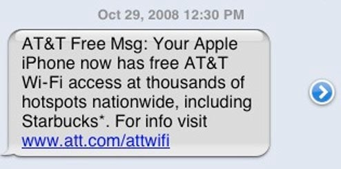 iPhone Gets Free AT&T Hotspot Access, Again