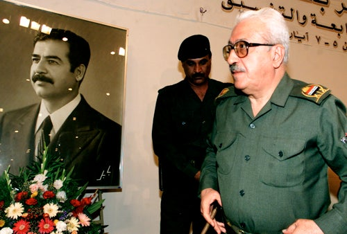 Saddam Hussein's Ex-Foreign Minister Sentenced to Hang
