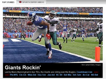 Here's A Photo From Today's Eagles/Giants Game Coverage (Updated With Videos)