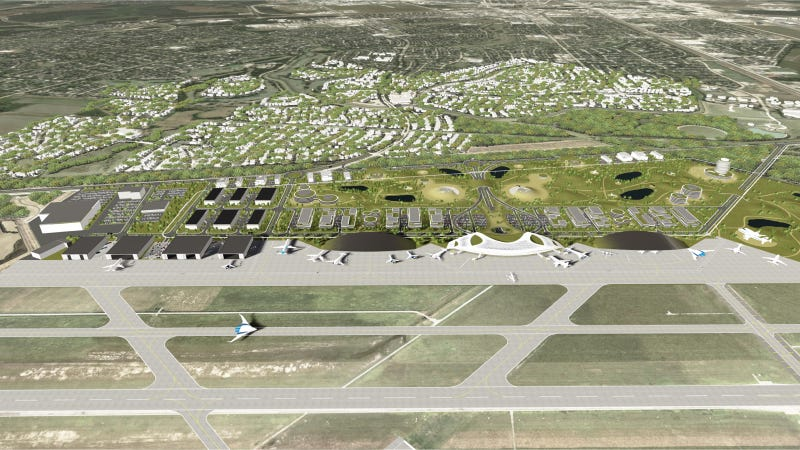The Houston Spaceport Concept Is An Airport For The 21st Century