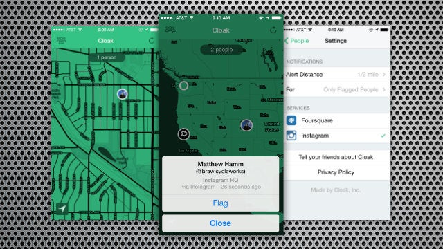 Cloak Plots Out Your Enemy's Location and Helps You Avoid Them