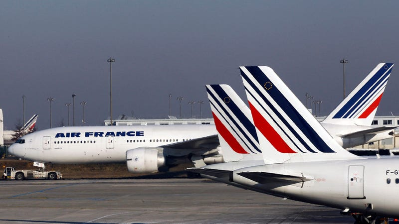 Air France Celebrating Women's Day with an All Female Crew