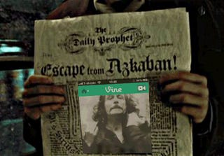 Those newspaper pictures and moving portraits in Harry Potter?