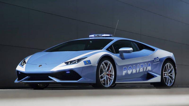 The Italian Police Now Have This Ridiculous Lamborghini Huracan