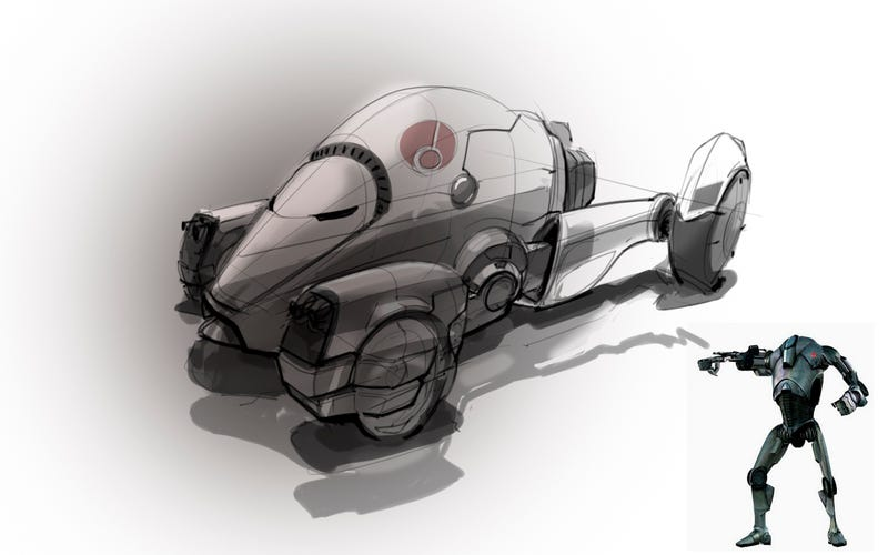 Do you like cars? Do you like Star Wars? Of course you do.