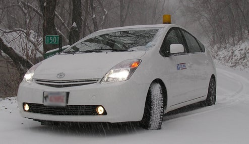 Tech-Savvy Prius Owner Uses Hybrid To Power House During Snow Storm