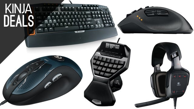 Eight Great Logitech Gaming Peripherals Are On Sale Right Now