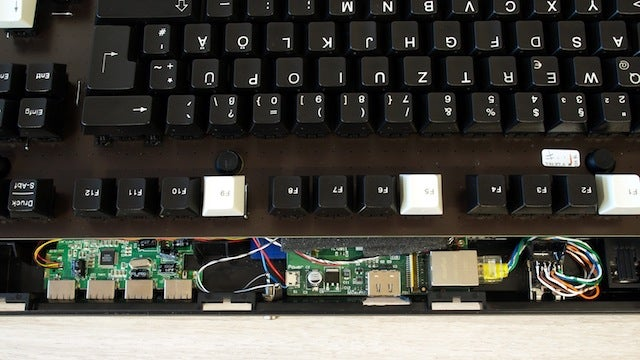 Turn a Keyboard Into a Computer with Raspberry Pi