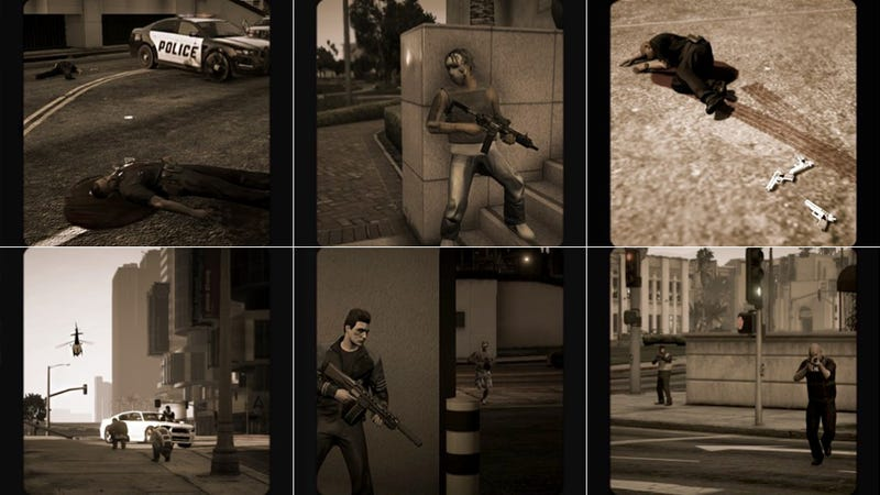 Grand Theft Auto Online Has an Unofficial 'Combat Photographer'