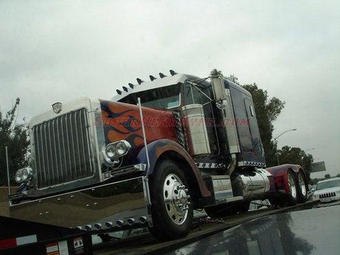 Optimus Prime Spotting Reaffirms Transformers 2 Filming