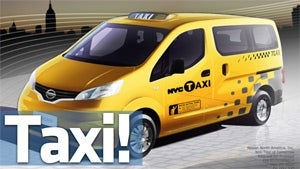 This Is the New New York City Taxi