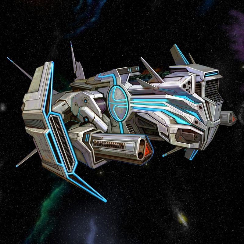 The Ships Of Galactrix