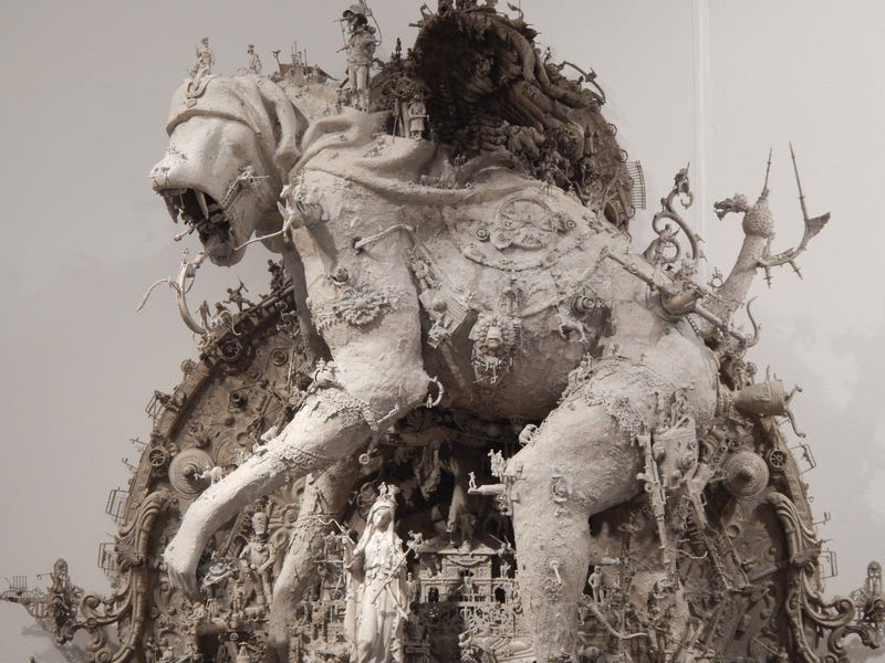 No wonder this sculptor is one of Guillermo del Toro's favorite artists